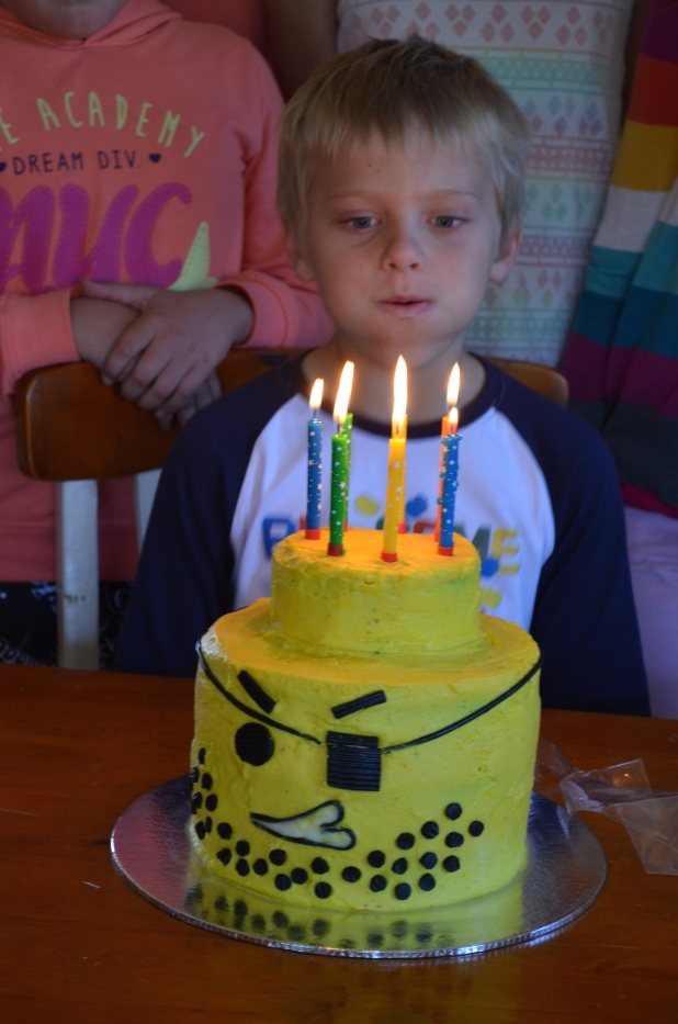 Blowing of Candles