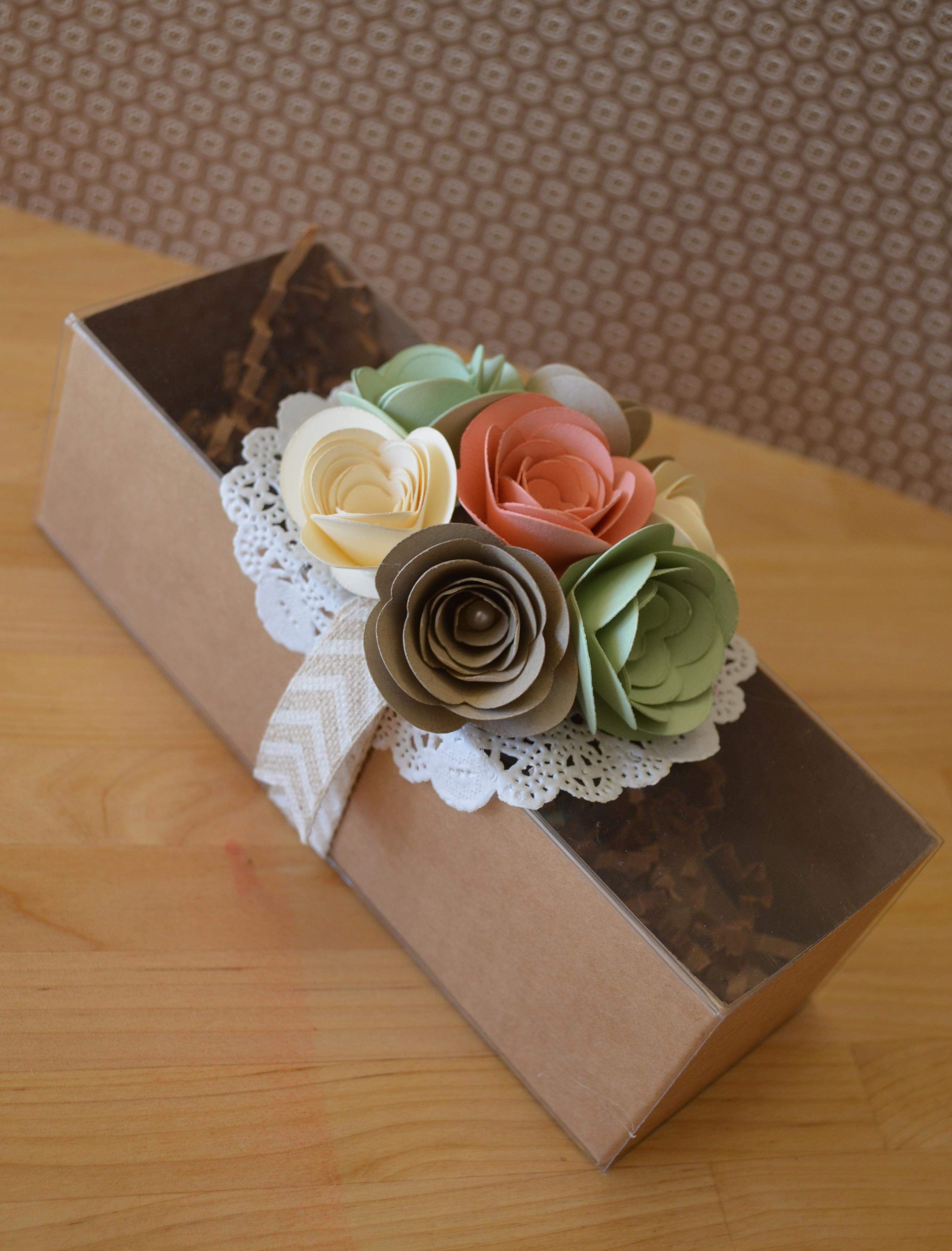 Цветы из бумаги своими руками. Мастер класс 26