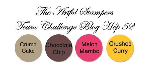 Artful Stampers Blog Hop Challenge #52